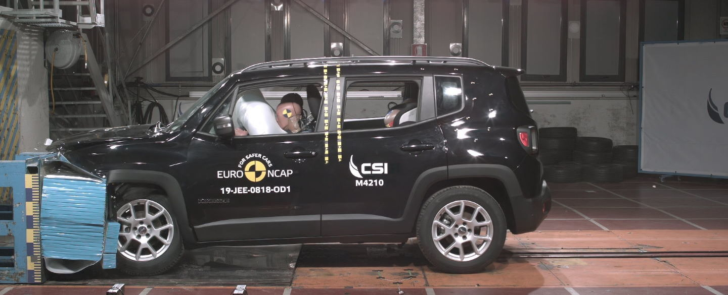 Crashtest - Jeep Renegade - 2019-12-04