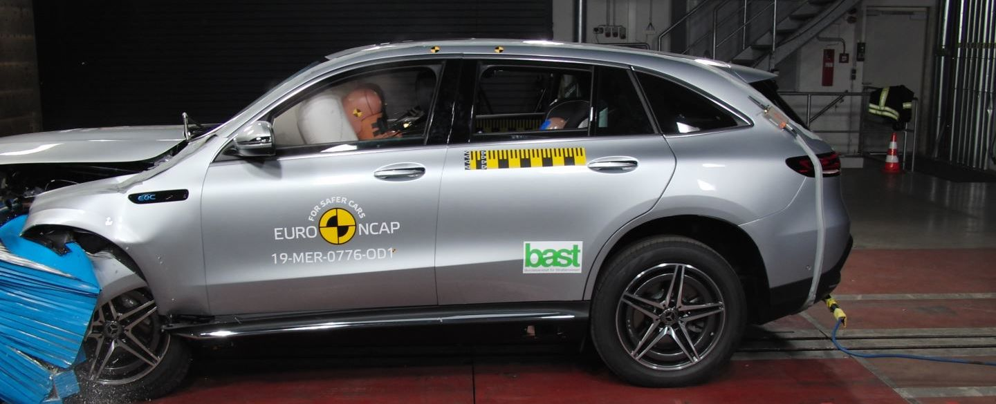 Crashtest - Mercedes EQC - 2019-09